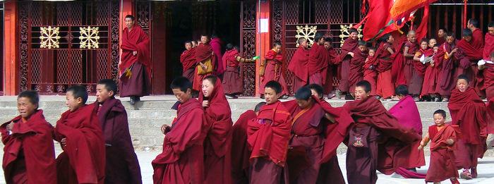 Kirti Monastery in Amdo