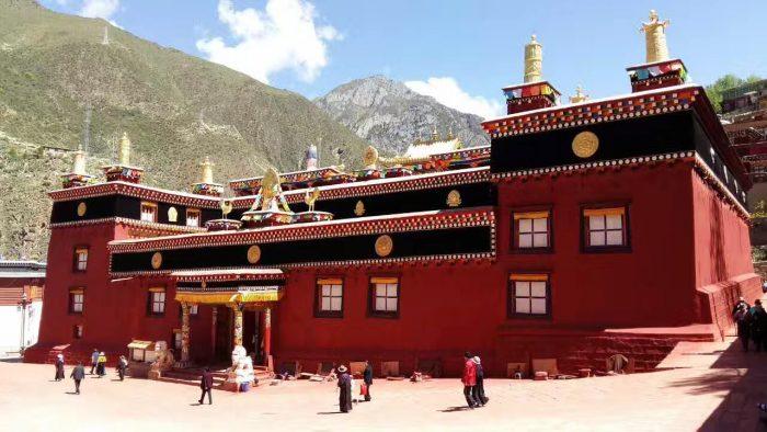 деге парканг, дерге, столица кхама, тибет кхам