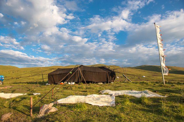 тибетский тент кочевников Кхам Тибет, туры в Тибет