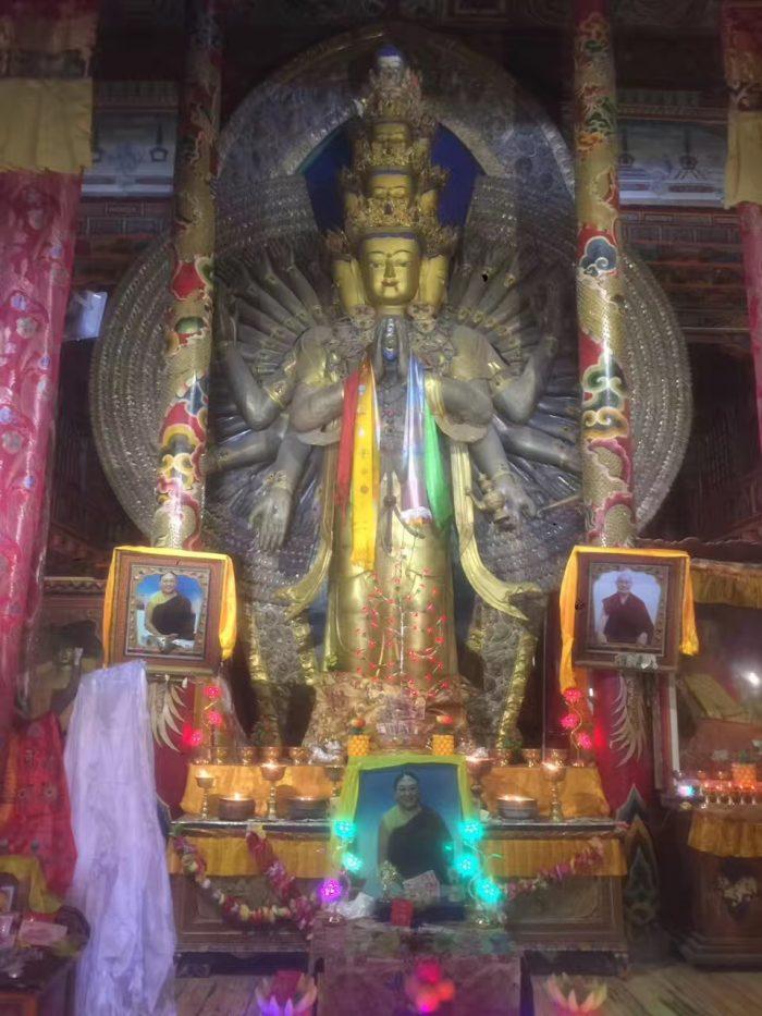 тысячирукий авалокитешвара, ченрезиг, кхам тибет
