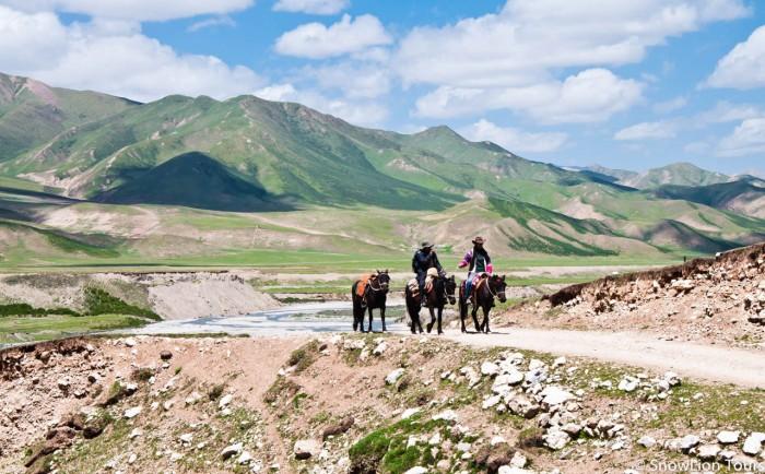 первый день коры вокруг горы Амнье Мачен