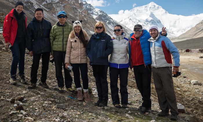 русскоязычная группа у Эвереста