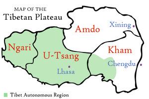 Маршрут по Тибету