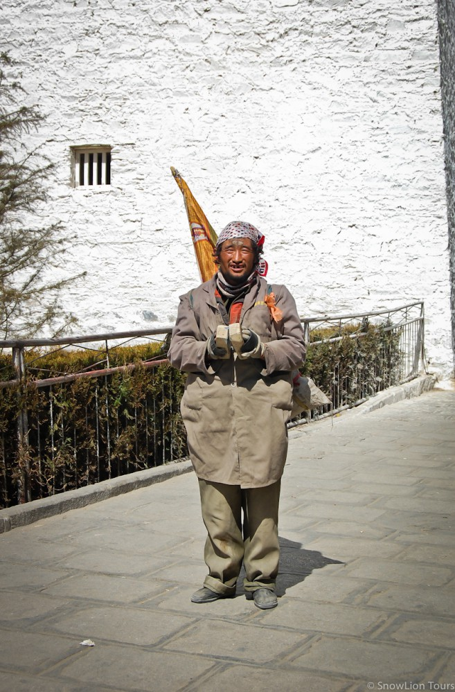 Тибетский паломник