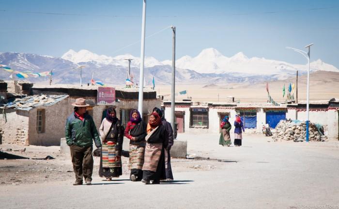 местные жители Парьянга