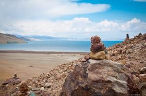 """камни """"мани"""" и озеро Манасаровар"""