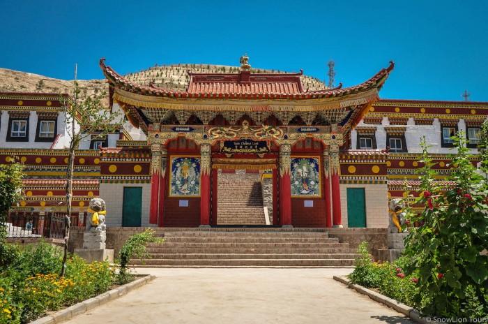 храм в одной из деревень Ребконга