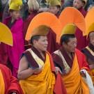 Монахи в церемониальной одежде