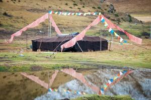 Традиционных тент тибетских кочевников