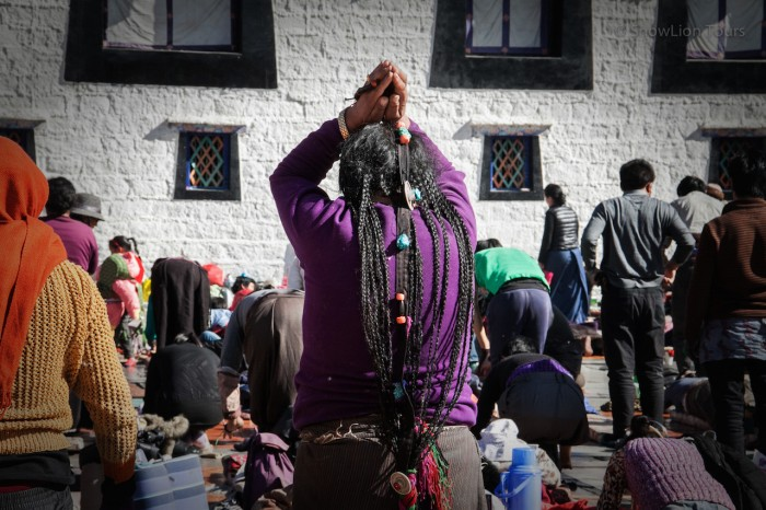молитва перед Джокхангом