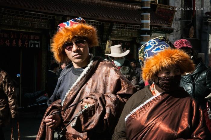паломники на Баркхоре, Лхаса