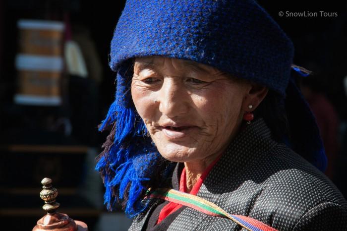 тибетка на площади Баркхор