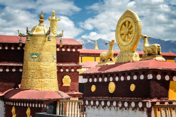 храм Джокханг и Дхармачакра