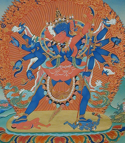Чакрасамвара и Дордже Пакмо