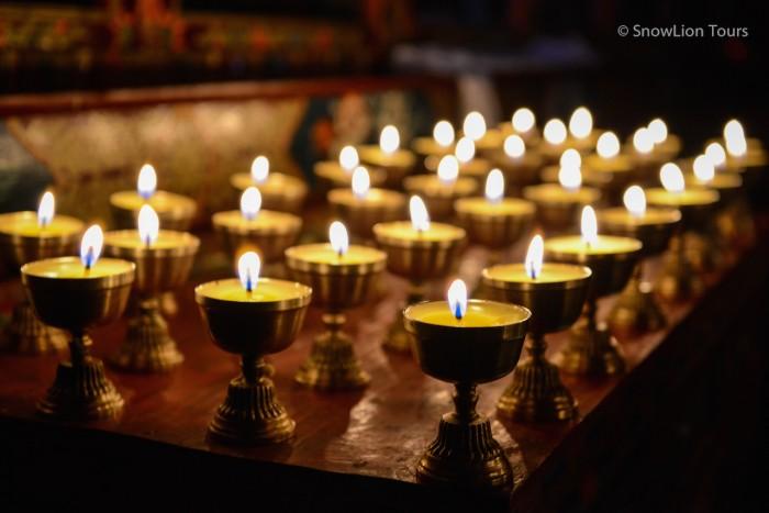 Ганден Нгачо Ченмо - Праздник Тысячи Масляных Лампад