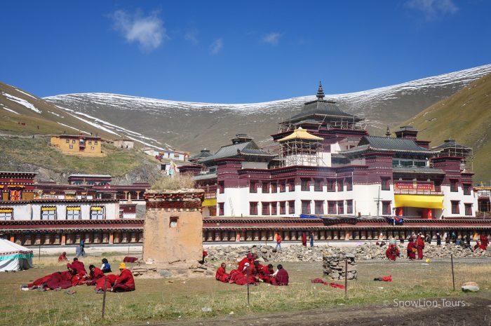 Монастырь Сершул, Кхам, туры в Тибет, пермиты в Тибет, тибетский буддизм