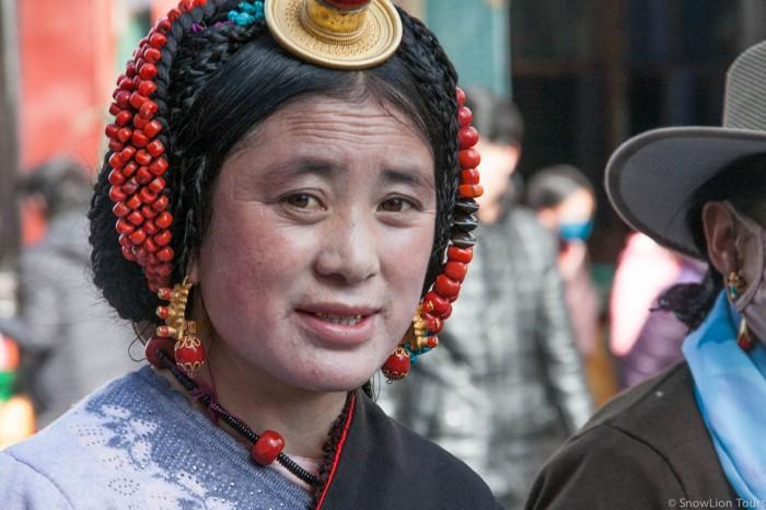 женщина из народности гьярунг